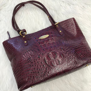 Primary Photo - BRAND: BRAHMIN STYLE: HANDBAG DESIGNER COLOR: EGGPLANT SIZE: LARGE SKU: 211-211112-2620