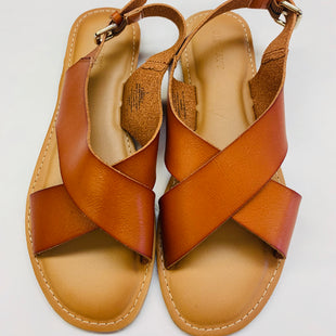 Primary Photo - BRAND: OLD NAVY STYLE: SANDALS FLAT COLOR: ORANGE SIZE: 8 SKU: 211-21164-70288