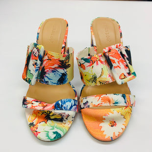 Primary Photo - BRAND: BAMBOO STYLE: SANDALS LOW COLOR: FLORAL SIZE: 7.5 SKU: 211-211145-5152