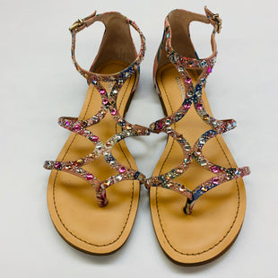 Primary Photo - BRAND: GIANNI BINI STYLE: SANDALS FLAT COLOR: FLORAL SIZE: 8 SKU: 211-211145-5157
