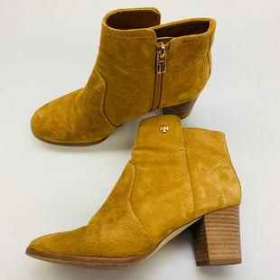 Primary Photo - BRAND: TORY BURCH STYLE: BOOTS ANKLE COLOR: TAN SIZE: 7 SKU: 211-211145-1914