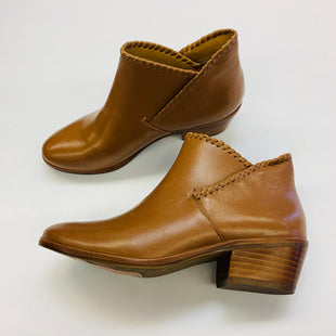 Primary Photo - BRAND: JACK ROGERS STYLE: BOOTS ANKLE COLOR: CAMEL SIZE: 5 SKU: 211-211120-7444