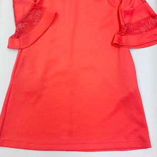 Primary Photo - BRAND: NEW YORK AND CO STYLE: DRESS SHORT LONG SLEEVE COLOR: CORAL SIZE: L SKU: 211-21164-70798