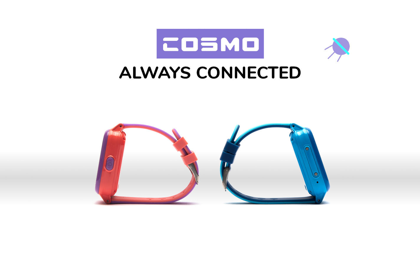 COSMO kids smartwatch always connected