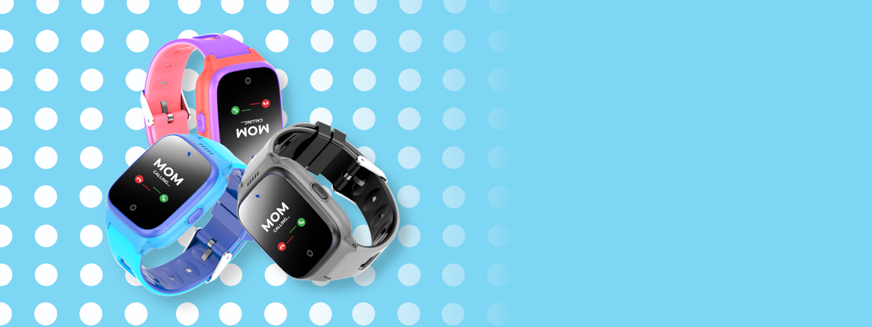 COSMO JrTrack Kids Smartwatch Banner