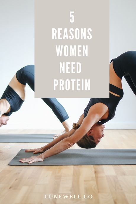 5 Reasons Women Need Protein