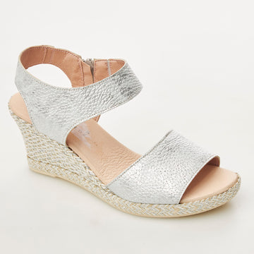 Jose Saenz Wedge Sandals