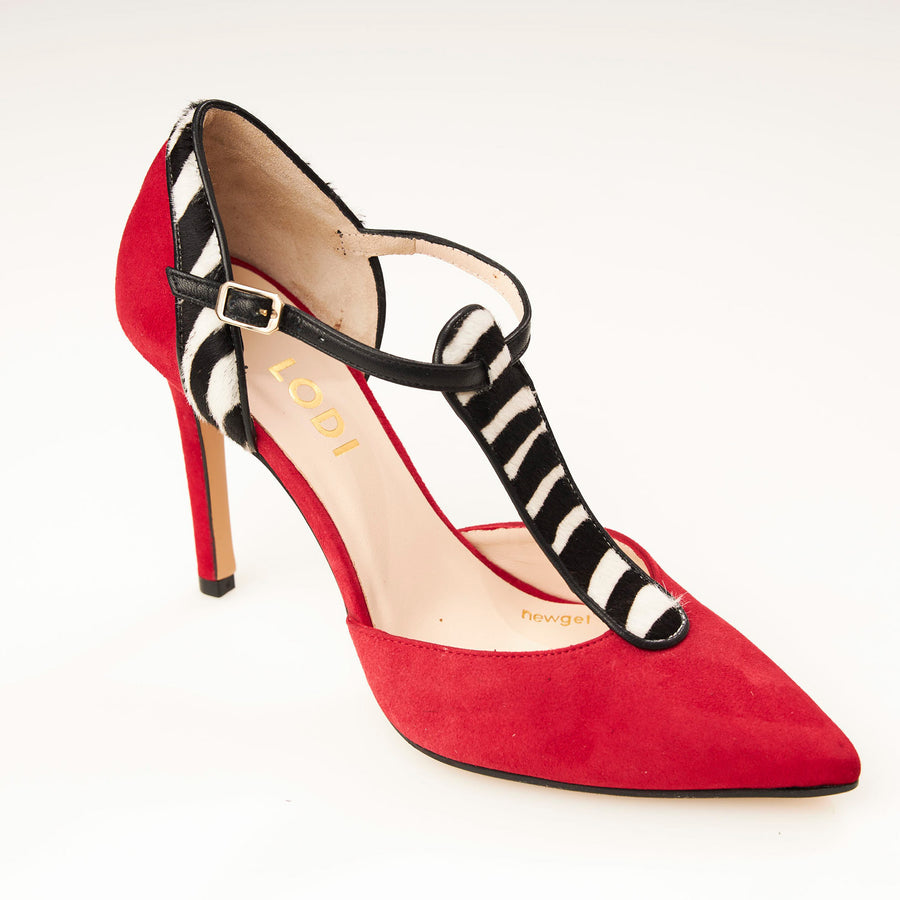 Lodi T Bar Court Shoe