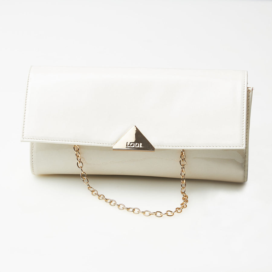 Lodi Ivory Clutch Bag