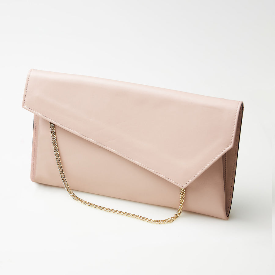 Marian Nude Clutch Bag