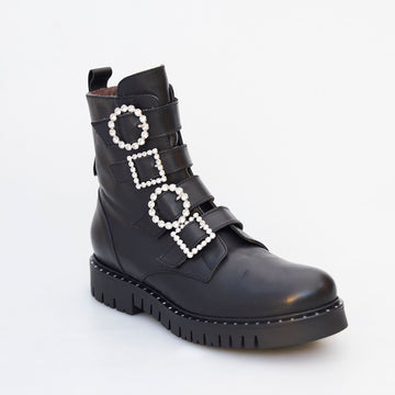 Marco Moreo Combat Ankle Boot - nozomishoes.ie