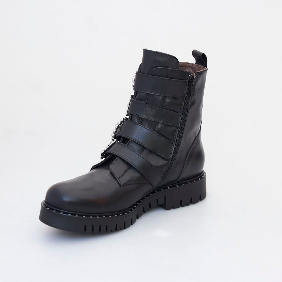Marco Moreo Combat Ankle Boot