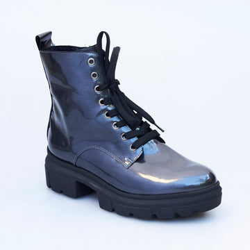 Peter Kaiser Patent Combat Boot - nozomishoes.ie