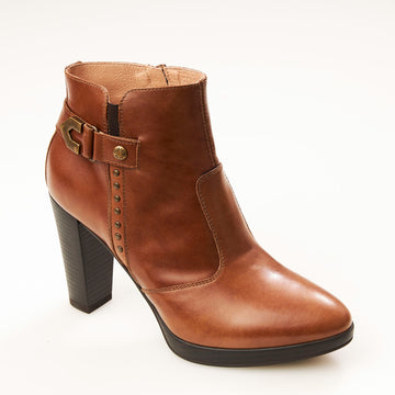 NeroGiardini Tan Ankle Boot