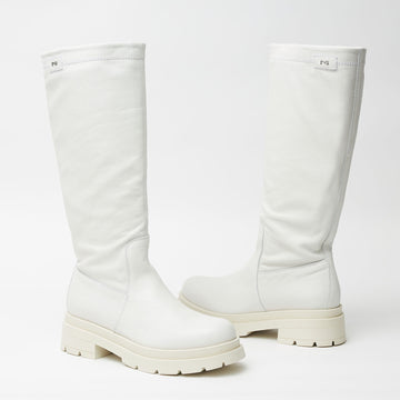 NeroGiardini Cream Boots - nozomishoes.ie