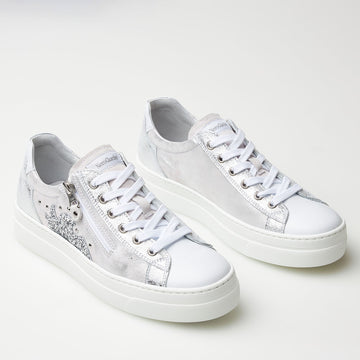 NeroGiardini White Trainer - nozomishoes.ie