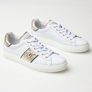 NeroGiardini Leather Trainers - nozomishoes.ie