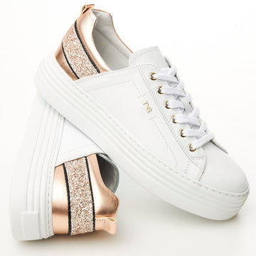 NeroGiardini White Trainers - nozomishoes.ie