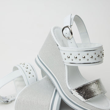 NeroGiardini High Wedge Sandals - nozomishoes.ie