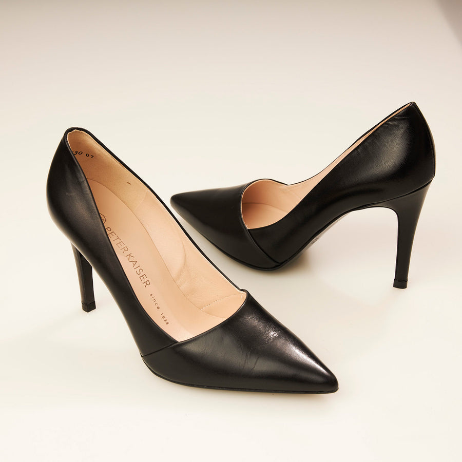Peter Kaiser Black or Navy or Brown Court Shoe