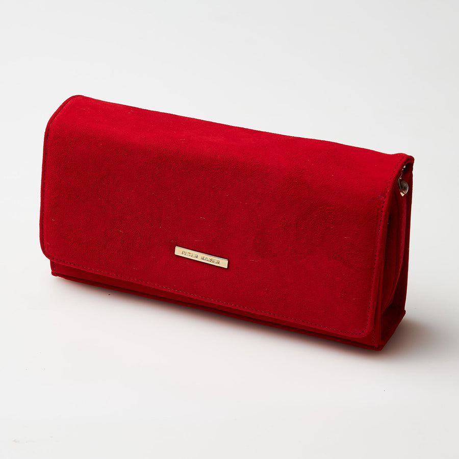 Peter Kaiser Coral Clutch Bag