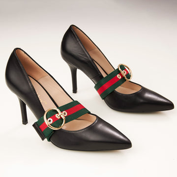 Renatta Black or Navy Court Shoe