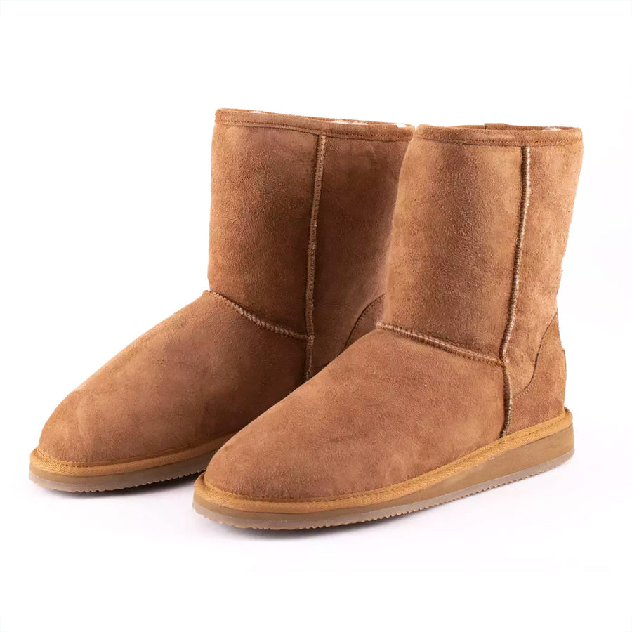 Shepherd of Sweden Camel Sheepskin Boot