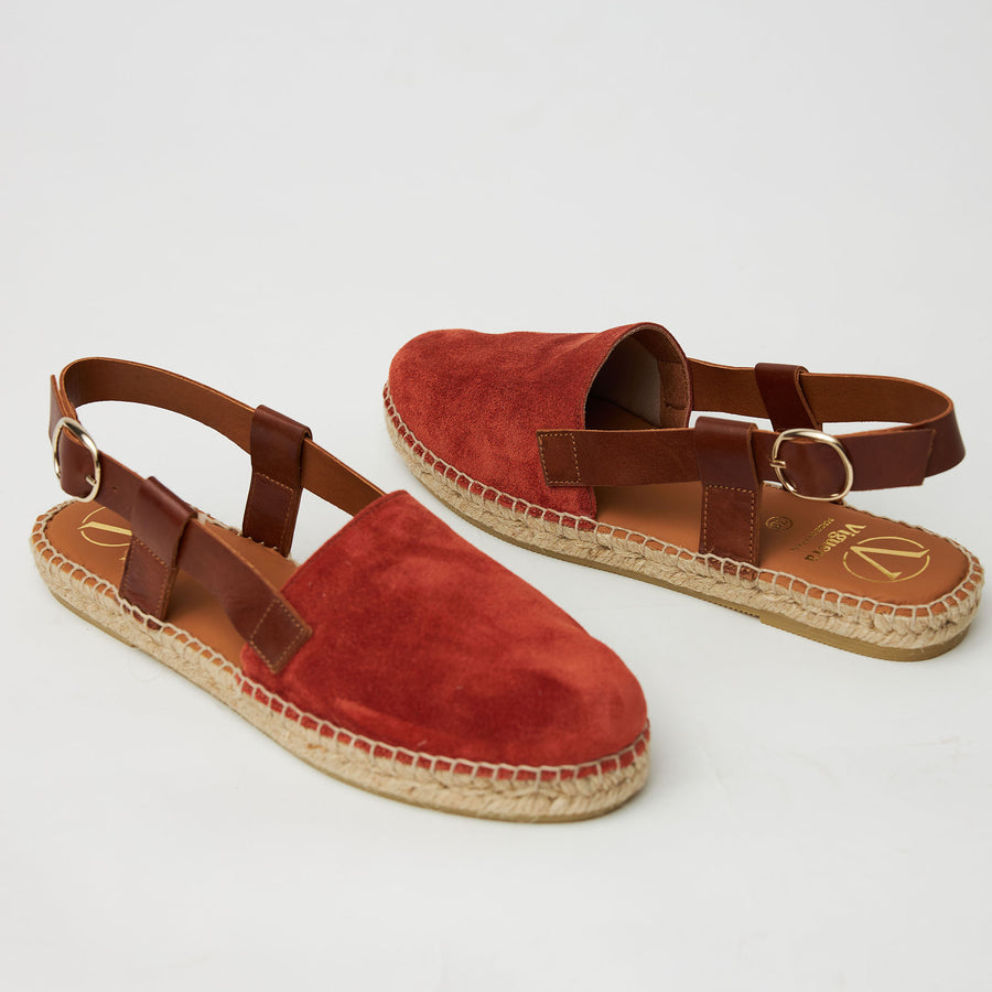 Viguera Flat Rust Sandals - nozomishoes.ie