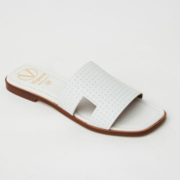 Viguera White Sliders - nozomishoes.ie