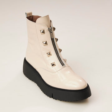 Wonders White Ankle Boot, Wonders Black Ankle Boot, Wonders Navy Boot