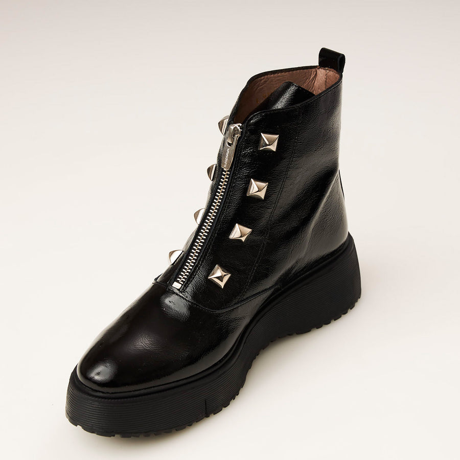 Wonders White or Black or Navy Ankle Boot - nozomishoes.ie