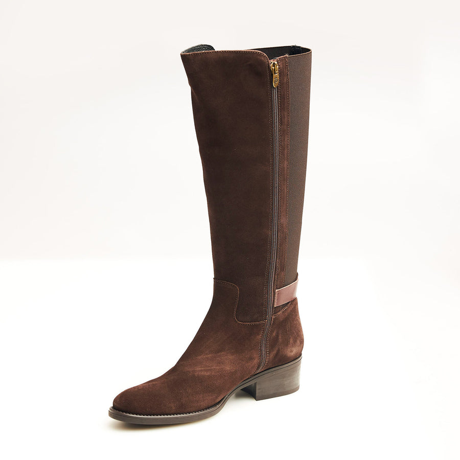 Toni Pons Suede Knee High Boots