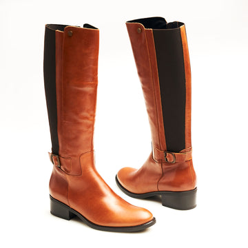 Toni Pons Tan Knee High Boots - nozomishoes.ie