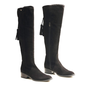 Toni Pons Black Suede Boot - nozomishoes.ie