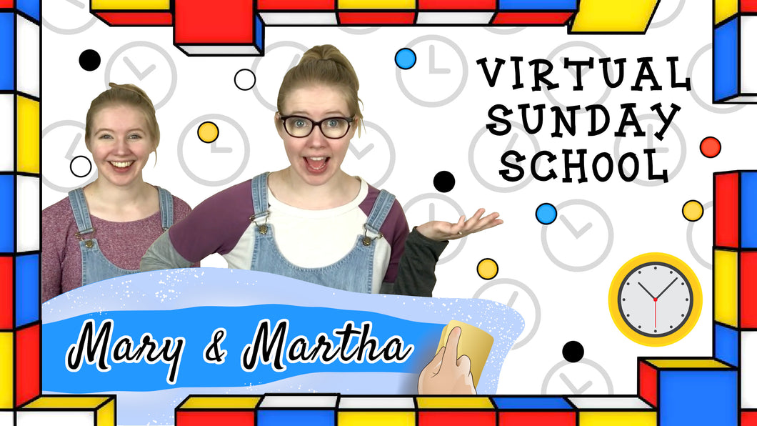 VSS Ep. 15 - Mary & Martha and the Multi-tasking Channel (Digital Download)