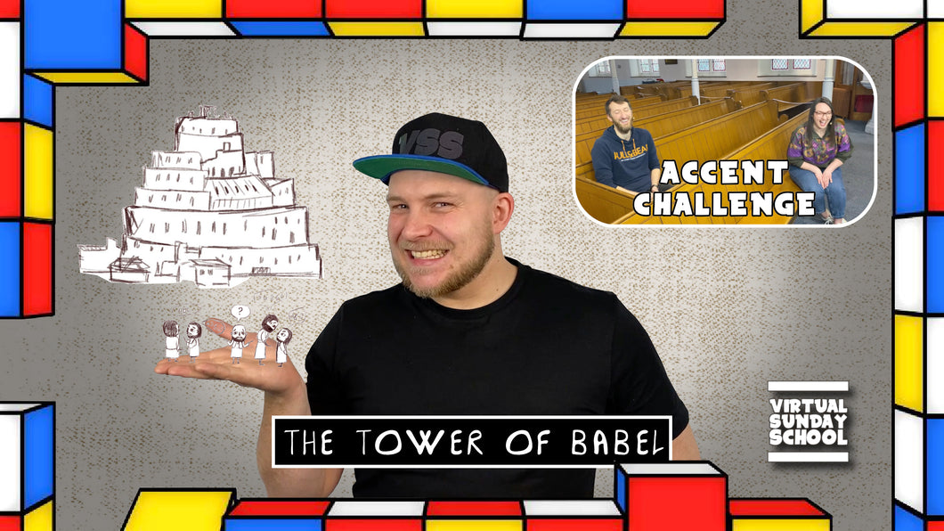 VSS Ep. 50 - The Tower of Babel. Featuring The Accent Challenge and YOUR Prayers (DIGITAL DOWNLOAD)