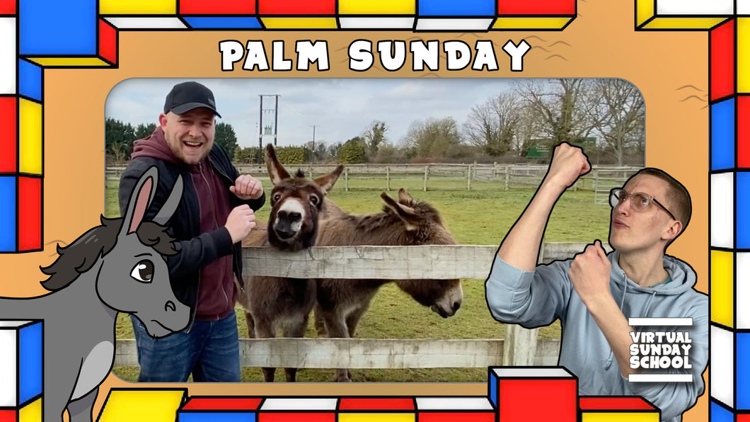 VSS Ep. 53 - Palm Sunday Special with Rob, Jordan and a couple of donkeys! (Digital Download)