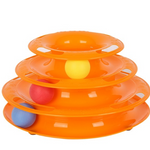 Triple Play Disc Cat Toy - PetCareSunday