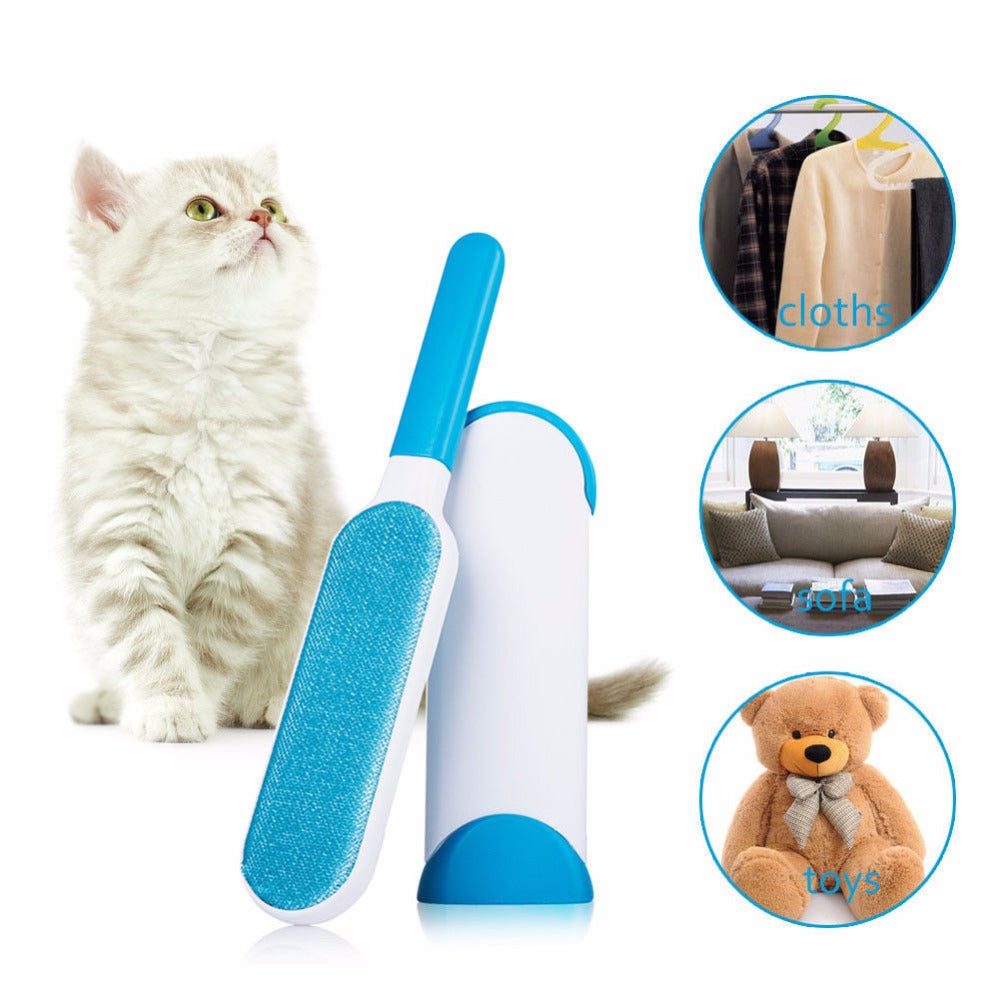 Anti-static Pet Magic Hair Remover Brush - PetCareSunday
