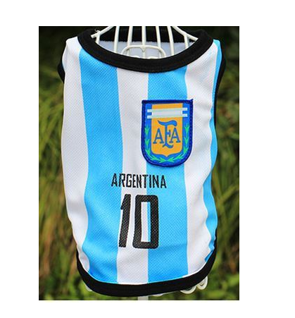 World Cup Soccer Dog Jersey - PetCareSunday