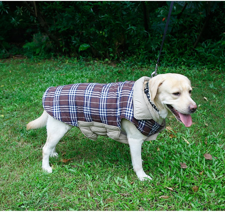 Waterproof Reversible Dog Jacket - PetCareSunday
