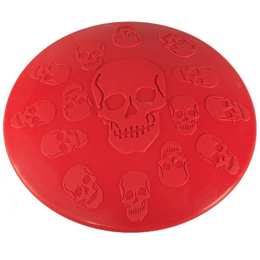 Pet Skull Flying Disc Toy - PetCareSunday