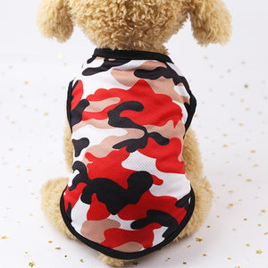 Camouflage Dog Vest - PetCareSunday