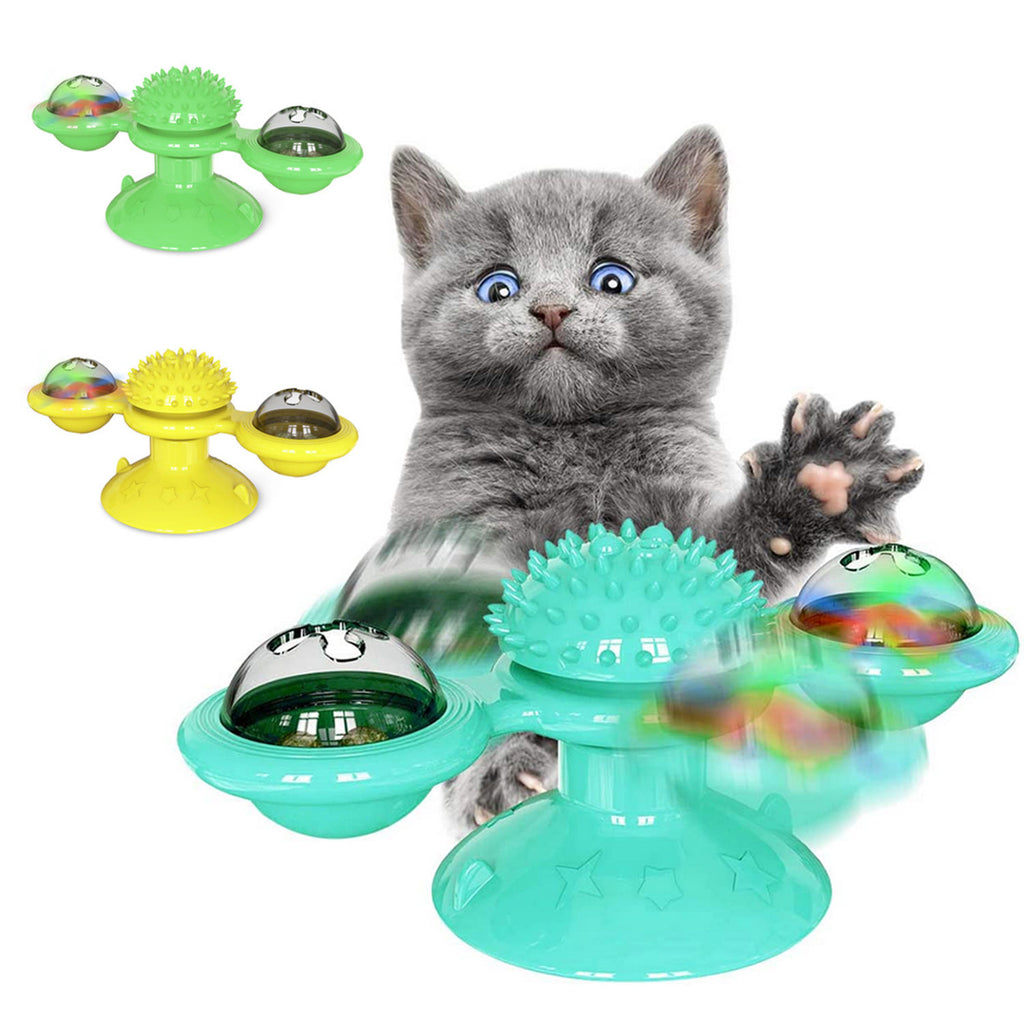 Rotate Windmill Cat Toy - PetCareSunday