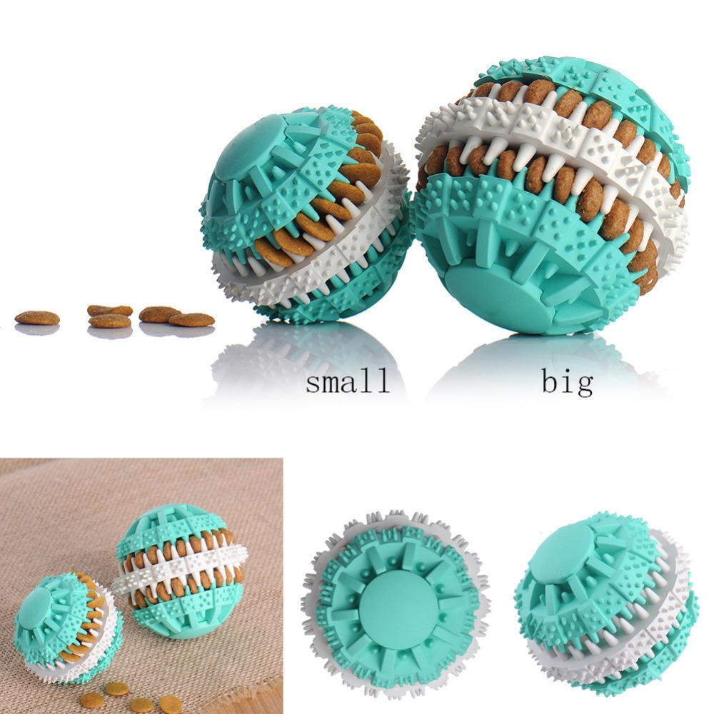 Pet Rubber Ball Leak Toys - PetCareSunday