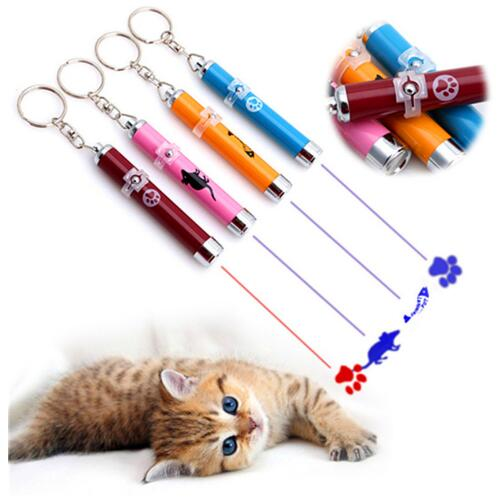 Pet Cat Toys LED Laser Pointer light Pen - PetCareSunday