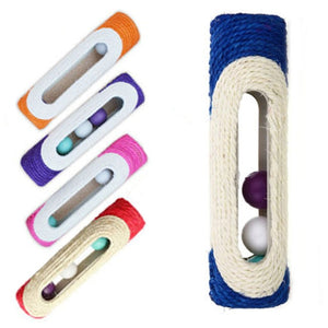 Rolling Sisal Pet Toy - PetCareSunday