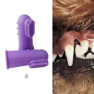 Pet Finger Toothbrush - PetCareSunday