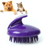 Soft Silicone Pet Grooming Brush - PetCareSunday