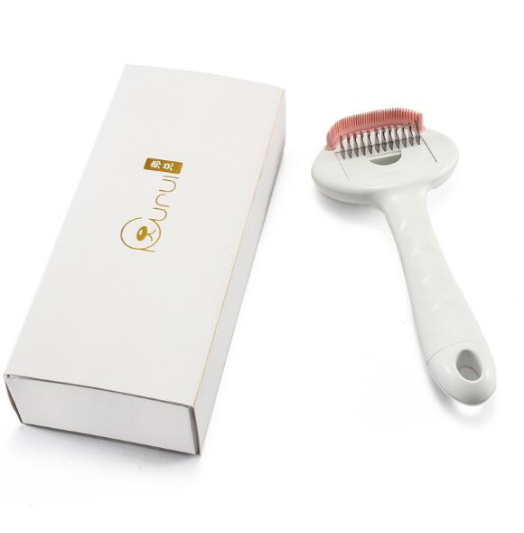3 in 1 Dense Tooth Comb Pet Hair Shedding Brush
